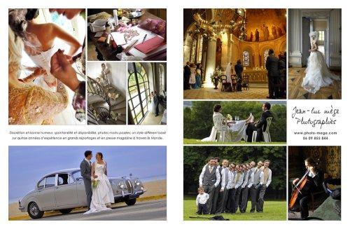 Photographe mariage - Jean-luc mege photographies - photo 1