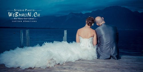 Photographe mariage - WeBmaliN Photographe Evian - photo 3