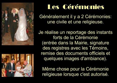 Photographe mariage - Michel Rebillard Photographe - photo 3