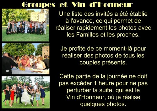 Photographe mariage - Michel Rebillard Photographe - photo 4