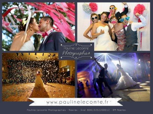 Photographe mariage - Pauline Lecomte Photographies - photo 1