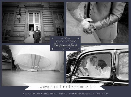 Photographe mariage - Pauline Lecomte Photographies - photo 3